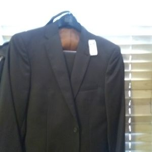Jos.A.Banks Gray Pinstripe full suit  brand new